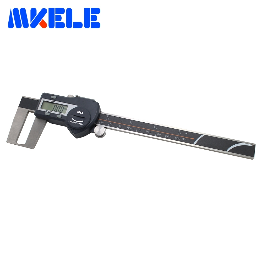 0-150mm Outer Groove Digital Vernier Caliper Digital Stainless Steel Vernier Caliper High-Accuracy IP54 Waterproof 0 300mm high accuracy digital electronic vernier caliper lcd micrometer digital caliper stainless steel ip54 waterproof