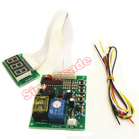 P3 Digits Timer Board Coin Operated Timer Control Board Power Supply For Coin Acceptor Selector