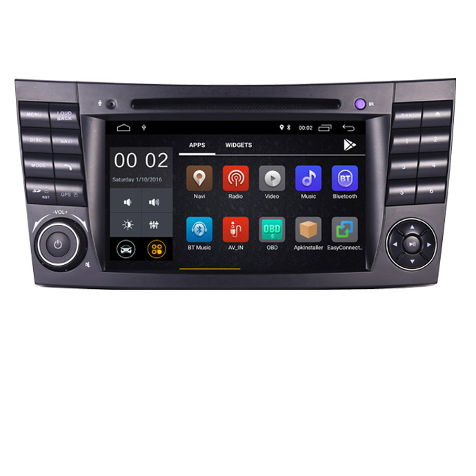 In Stock Android 10 IPS Touch Screen Car DVD Player For Mercedes Benz E-Class W211 E200 E220 E300 E350 Quad Core Wifi Radio GPS