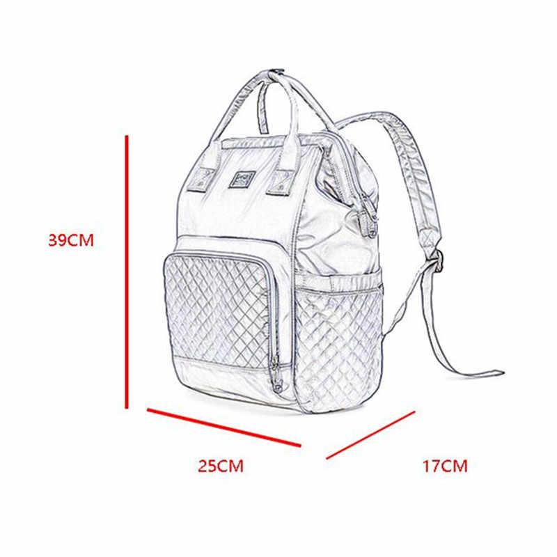 Новый Ёмкость мумия мешок материнства пеленки детские сумки многофункциональный уход сумка рюкзак Baby Care мама удобный доставка