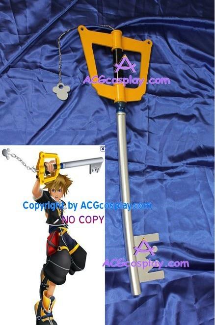 قدمت المملكة هارتس سورا Keyblade WOOD 35inch - ازياء كرنفال