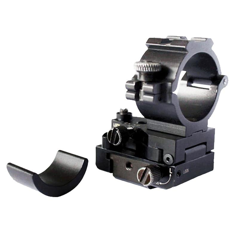 Livraison directe tactique windage et élévation réglable montage picatinny rail pistolet fusil weaver mount