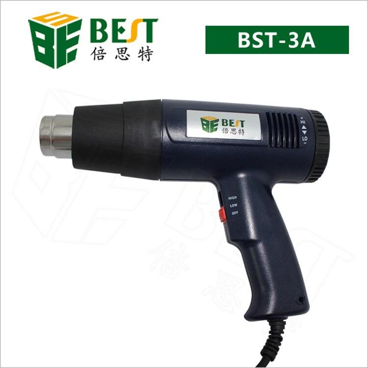 1600W Handhold Portable pistolet à Air chaud BGA reprise Station de soudure ventilateur à Air chaud température réglable ventilateur à Air chaud modèle 3A