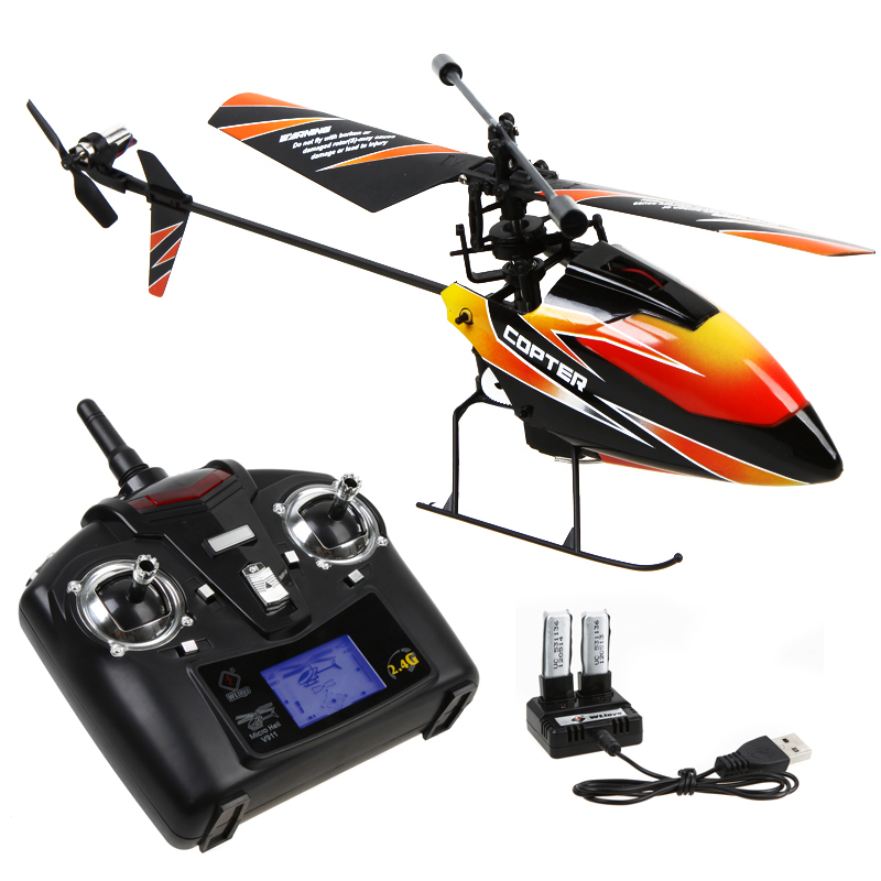 ФОТО New WLtoys WL Upgraded Version V911 4CH 2.4G Single Blade Propeller Mini Radio RC Helicopter with GYRO RTF Mode 2 Transmitter