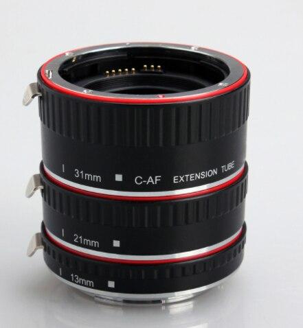 Macro bague d'adaptation pour Canon eos électronique autofocus close-up bague lentille close-up bague