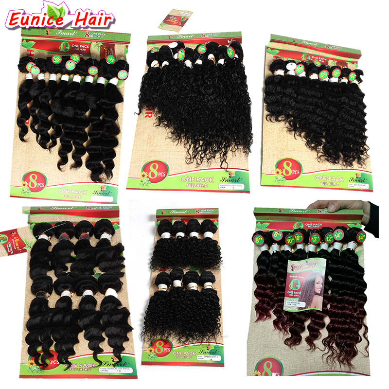 Brazilian Kinky Curly hair human weave Ombre Kinky Curly Hair Weave Wet And Wavy Ombre 27 Curly Crochet Hair 8 Bundles ONE PACK