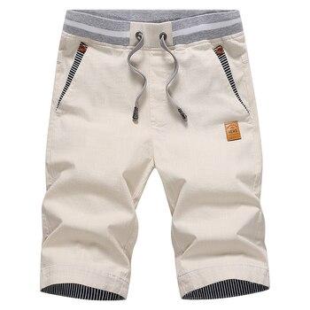 drop shipping 2020 summer solid casual shorts men cargo shorts plus size 4XL  beach shorts M-4XL AYG36 6