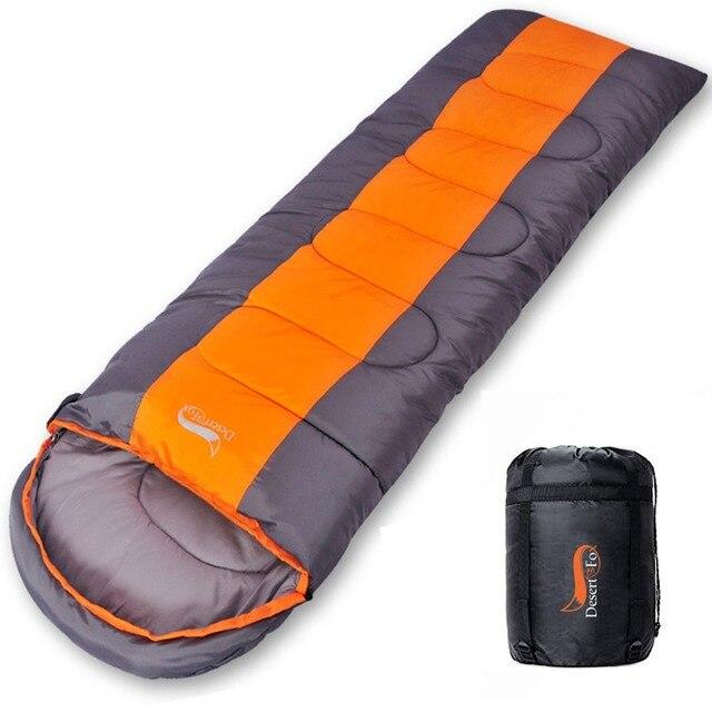 Desert&Fox Camping Sleeping Bag, Lightweight 4 Season Warm & Cold Envelope Backpacking Sleeping Bag for Outdoor Traveling Hiking 3