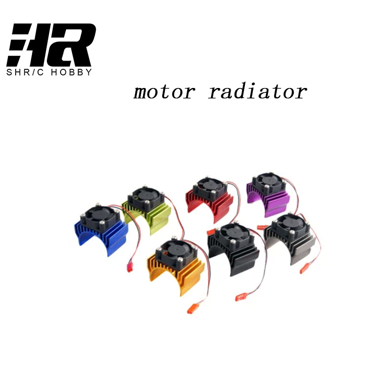 Free shipping RC Car  1:10 Tram 540 Motor With Fans Radiator Heat Sink For 3650 3660 3670 3674 540 550 Size Motor free shipping 3v 0 2a 12000rpm r130 mini micro dc motor for diy toys hobbies smart car motor fod remote control car