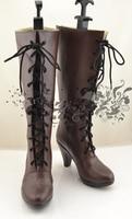 Аниме aph хеталия Франция Косплэй Обувь аниме Сапоги и ботинки для девочек