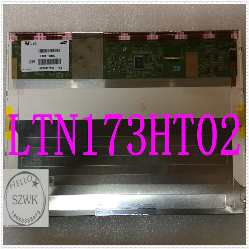 FREE SHIPPING Brand New 17.3 40Pin LED display LTN173HT02 C01 for ASUS G75VW G750 LED 3D Screen 1920*1080