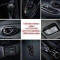 Tonlinker интерьерные молдинги чехол наклейки для Toyota Vios/Yaris 2014-19 автомобильный Стайлинг 1/8 шт абс Углеродные наклейки