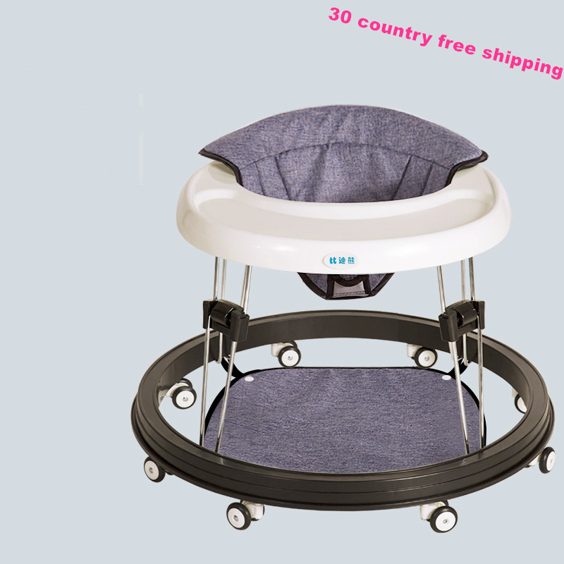 Baby Walker  Learn To Walk Multi-functional Anti-rollover 6/7 -18 Months Hand Push Can Ride Baby Scooter  Baby Balance Walker