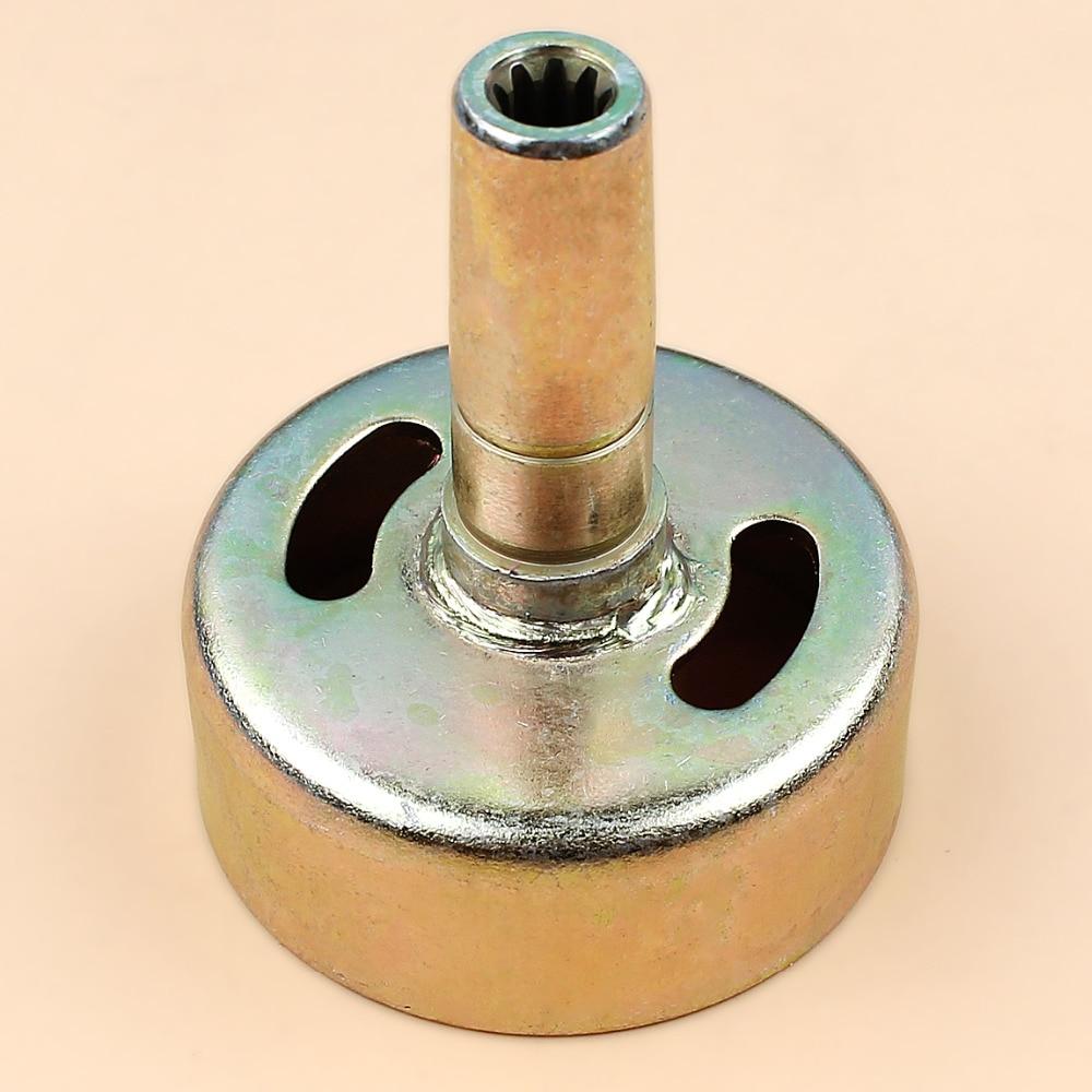 9T Teeth Clutch Drum Gear Pinion Clutch Bell Fit Honda GX25 GX 25 4-Cycle Gas Small Engine Motor Trimmer Generator Mowers