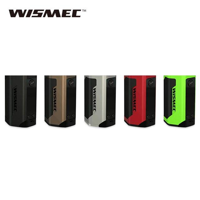 Оригинал 300 W WISMEC Рел RX GEN3 Mod подходит GnomeTank распылитель Vape E-сигареты RX GEN3 Mod без 18650 Батарея против чужеродных 220 w