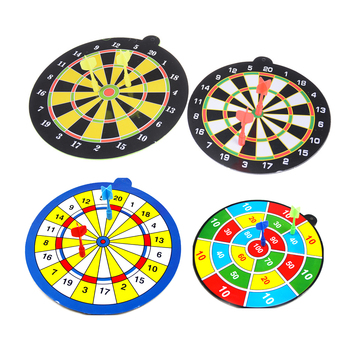 Flying Toys Sucked Type Dart Board Kids Bullet Ball Target Game Throwing Sports for EVA Safe Darting Target For Kids Toys image