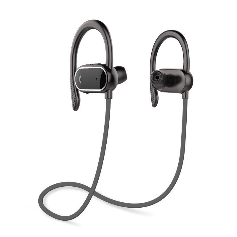 New Step Counter Stereo Bluetooth Headset Waterproof wireless Running Sport Bluetooth Earphone Double Noise Reduction fw1s 2016 new arrival q9 wireless bluetooth 4 1 stereo earphone sport running studio free shipping