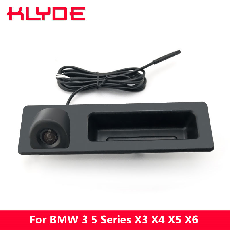 KLYDE Night Vision Car RearView Reverse Parking Camera For BMW 3 Series F30 F31 F35/5 Series F10 F11/X3 F25/X4 F26/X5 F15/X6 F16 special hd car front view camera for bmw x1 x3 x4 x5 1 series 2 series 3 series 5 series 7series