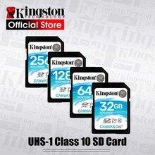 Original Kingston SD Card 128GB 64GB 32GB cartao de memoria 256gb Class10 uhs-i U3 4K flash memory card for SLR cameras drones