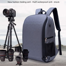 "Roadfisher Outdoor Waterproof Foldable Photography 15.6 ""Laptop Backpack Bag Insert Case For DSLR Digital Camera Lens(China)"