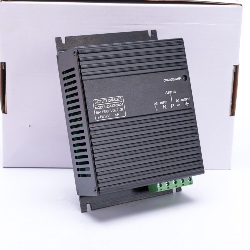 цена на Hot Sale 4A 12V 24V volt Generator Intelligent Battery Charger Module starter deep cycle battery charger for generator adapter
