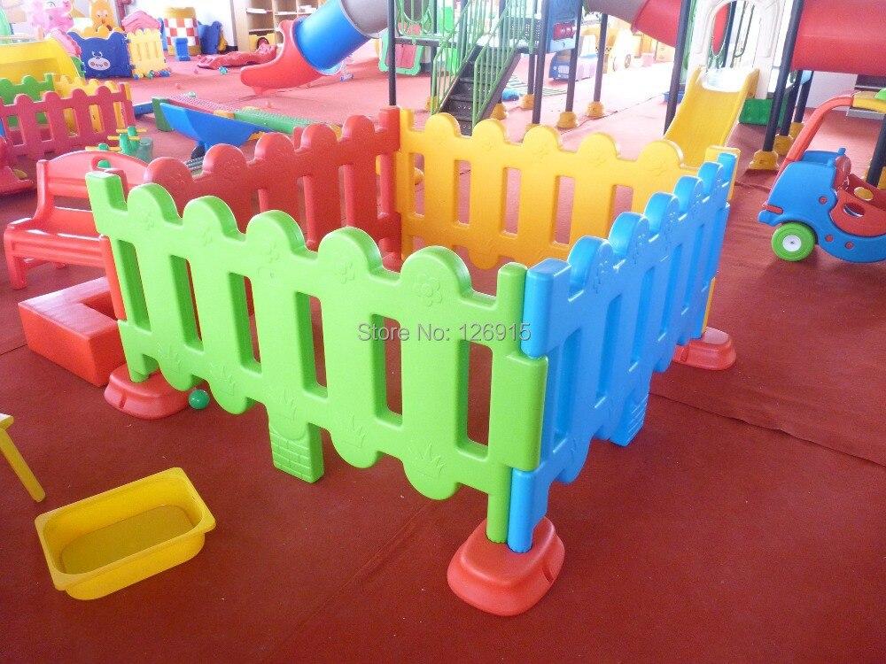 Free Shipping Plastic Fence Colorful Kids Fence 4pcs 1set Environmental  Plastic Children Ball Pool Fences On Aliexpress.com | Alibaba Group