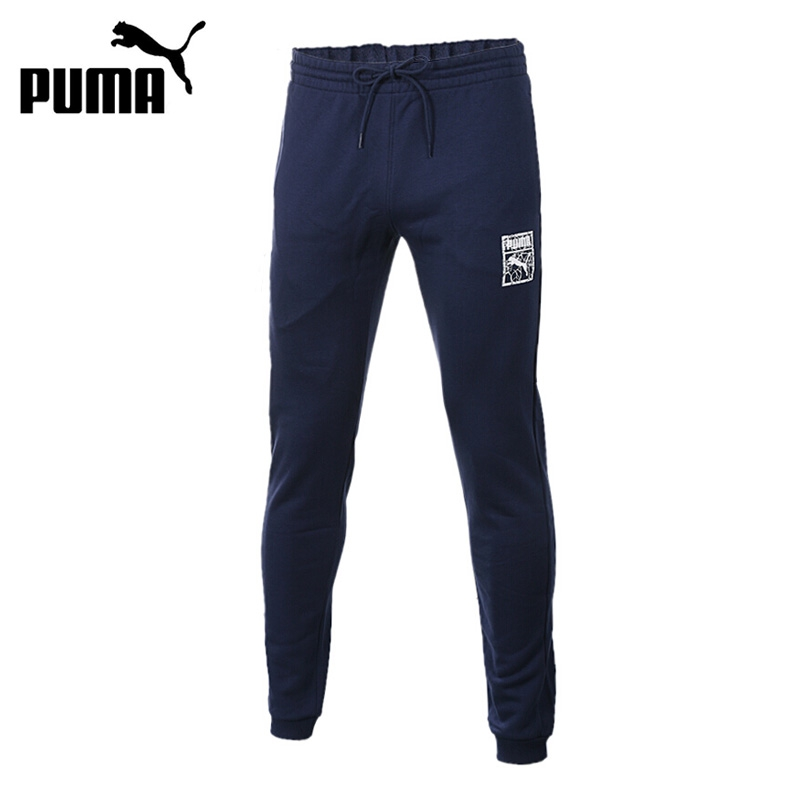 Original New Arrival PUMA Archive Graphic Logo Pants TR Men's Pants Sportswear levi's® серая футболка с логотипом sportswear logo graphic