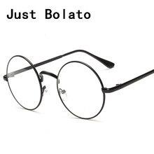 Óculos de armação homens óculos de marca de moda de nova titanium roud com armação de óculos de computador vidros do olho quadro mulheres claras