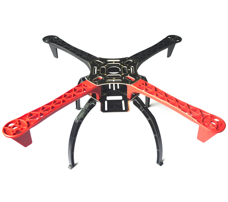 F450 Quadcopter DIY Drone kit Frame FPV 4-Axis Quad PCB red white black Frame Arm with Landing Gear Skid for F450 F550 SK480 цена