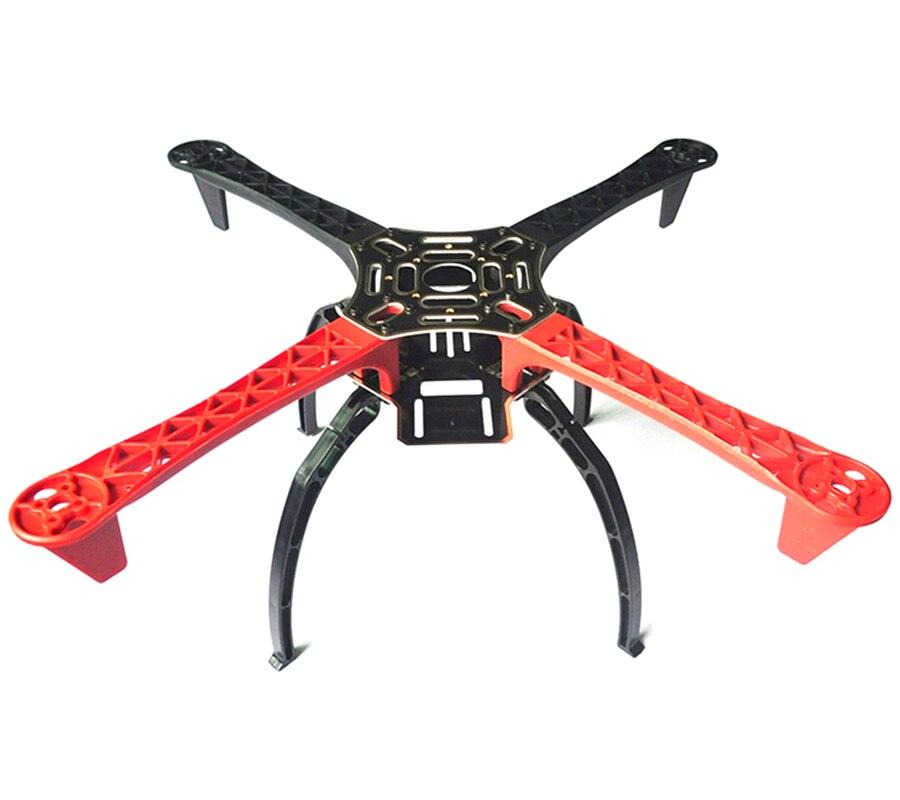 F450 Quadcopter DIY Drone kit marco FPV 4 eje Quad PCB rojo blanco ...