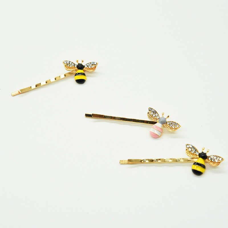 1Pcs Lebah Besar Pin Rambut Anak Gadis Klip Kupu-kupu Wanita Gadis Styling Alat Bagian Cakar Klem Pro Aksesoris bayi