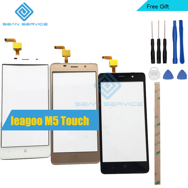 For LEAGOO M5 100% Original TP Touch Screen Panel Perfect Repair Parts +Tools 5.0