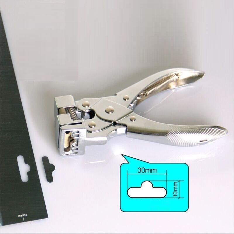 Купить с кэшбэком T Shape Hole Punch Butterfly Shape Hanging Holes Punches Manual PVC Card Punch and ID Card Slot Hole Punch