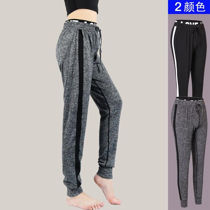 2018 Women Sweatpants Running Fitness Running Pants Fast Dry Haren High Elastic Sport Leggings Tights Running Sports Pants 2040