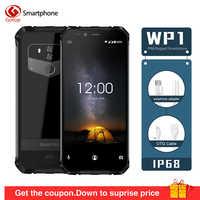 OUKITEL WP1 IP68 Wasserdichte Android 8.1 5,5 QUAD-CORE-7.0 ''FHD Octa Core 4GB RAM 64GB ROM MTK6763 5000mAh 9V /2A Drahtlose Lade Handy