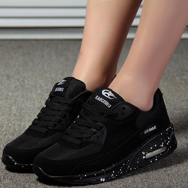 584dc13f Nuevo diseñador coreano blanco plataforma zapatillas Casual zapatos mujeres  2018 moda verano Tenis Feminino mujer calzado