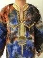 Africano Dashiki Vestes de design de roupas masculinas projeto twopiece vestido bazin africano bom bordado camisa dos homens com calças