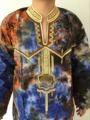 Dashiki African men's clothing design Robes design twopiece dress african  bazin good embroidery men shirt with trouser