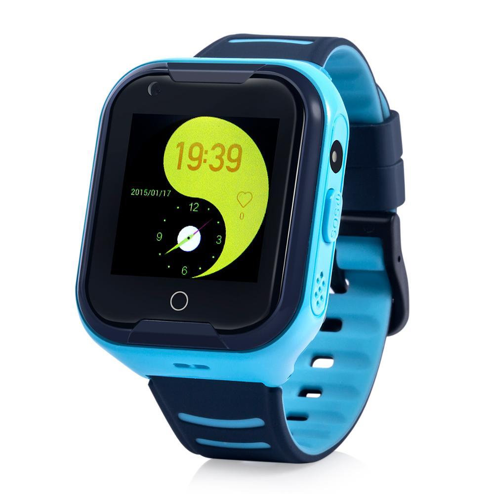 Wonlex KT11 date 4G montre intelligente pas cher résistance à l'eau IP67 montre de téléphone intelligent avec dispositif GPD pour enfants et adultes (Version EU) - 2