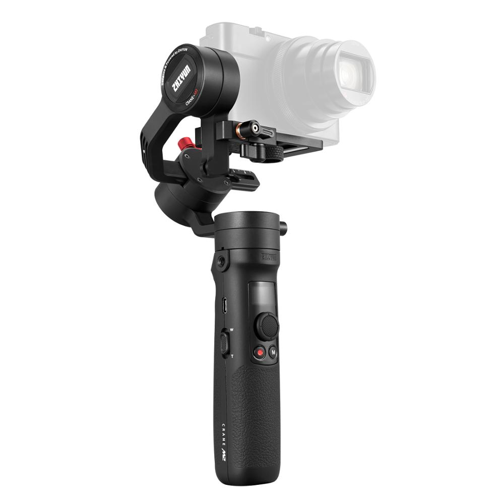 Image 4 - ZHIYUN Official Crane M2 Gimbals for Compact Mirrorless Action Cameras Phone Smartphones New Arrival Handheld Stabilizer 500gHandheld Gimbals   -