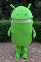 Android Robot Mascot Costumes Fancy Costume Cosplay Mascotte Adult Size