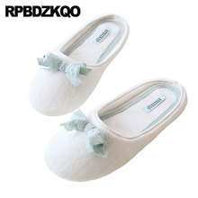 3eb1269dbb3 home bedroom slides house slippers white guest footwear designer floor  autumn indoor fashion shoes 2018 women