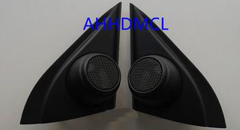 Szyny głośnikowe do montażu głośników samochodowych uchwyty gumowe drzwi kątowe do Hyundai IX25 2014 2015 2016 tanie i dobre opinie Skrzynek głośnikowych ABS+PC+Metal AHHDMCL Black 0 3kg Car audio door angle gum tweeter refitting