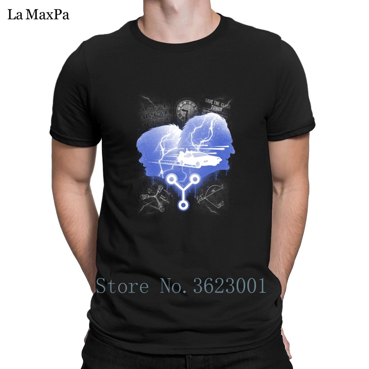 Трикотажные комично футболка для Для мужчин путешественников во времени футболка человек Костюмы футболка фирменные Для мужчин футболка ...