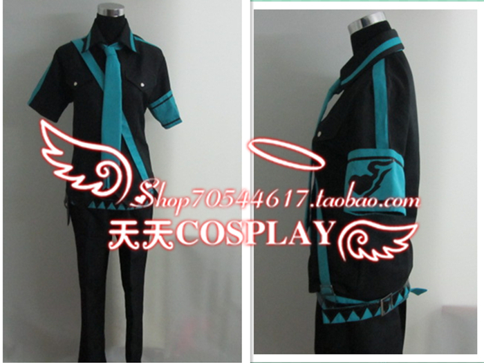 Vocaloid 2 Love Is War Hatsune Miku Boy Cosplay Costume K002