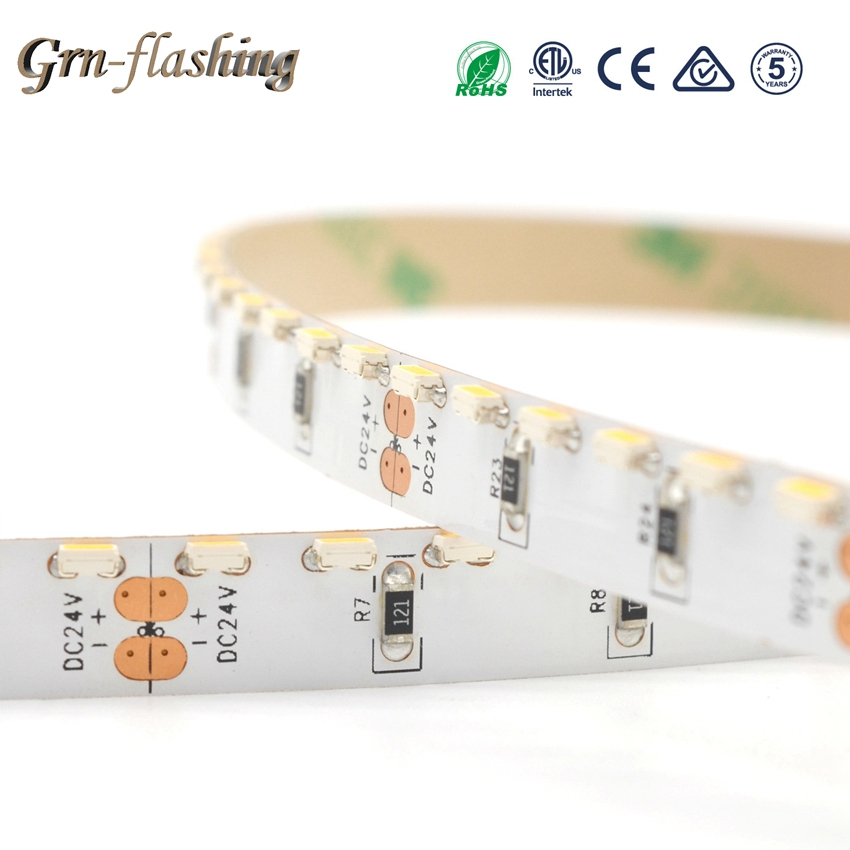 1/2/3/4/5m 12V 120led/m Side Emitting LED Strip SMD335 8mm Width Tape Lights For Home TV Backlight Living Room Light Decoration