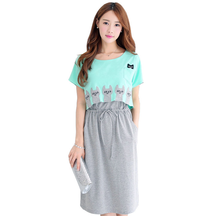 Online Get Cheap Cotton Maternity Dresses -Aliexpress.com ...