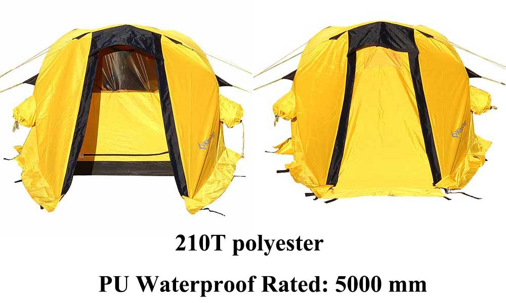 KingC& C&ing Tent Waterproof 5000 mm Windproof Durable 2-Person 4-Season Tent for MountaineeringOutdoor Hiking  sc 1 st  AliExpress.com & KingCamp Camping Tent Portable Durable Waterproof Windproof 2 ...