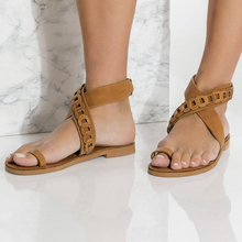 Summer Sandals Women Plus Size 43 Flats Female Casual Clip Toe Gladiator Shoes PU Suede Ankle Strap Leisure Solid Footwear new fashion summer gladiator ankle strap women shoes flat sandals fretwork flats women leisure footwear size 34 43 pa00798