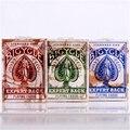 Experto Cubierta Posterior de La Bicicleta Naipes-Apenada Vintage Look de USPCC Rojo O Verde O Azul Trucos de Magia 81245
